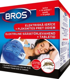 Bros Mosquito Device+10 Refill Pads