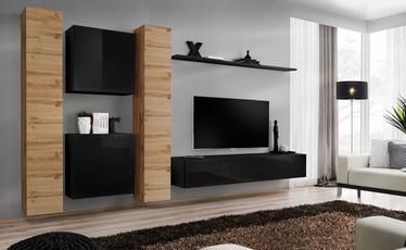 ASM Switch VI Wall Unit Wotan Oak/Black