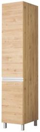Кухонный шкаф Bodzio Monia High Narrow 40 Right Brown, 400x590x2070 мм