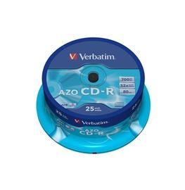Kompaktkettad CD-R Verbatim, 700 MB, 25 tk