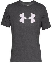 Under Armour Mens Big Logo T-Shirt 1329583 019 Grey M