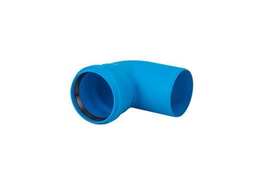 Magnaplast Ultra dB Elbow Pipe Blue 45° 110mm