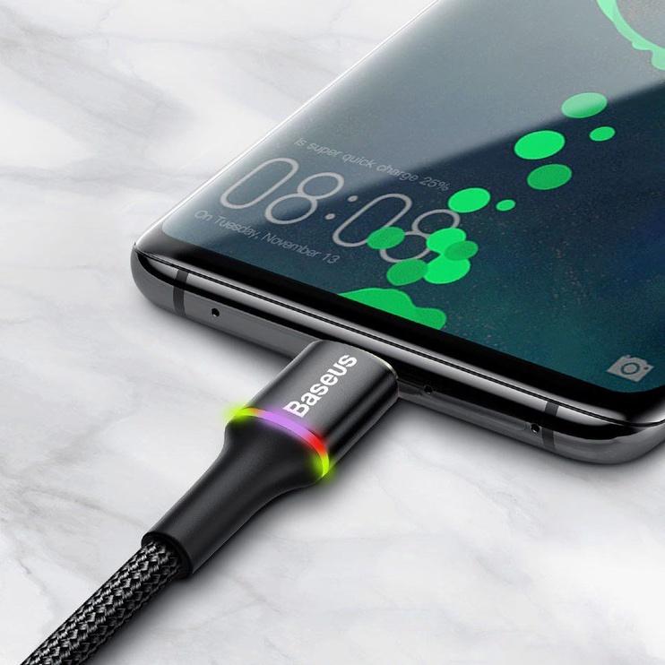 Baseus Halo USB To USB Type-C Cable 1m Black