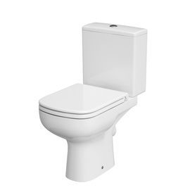 WC-pott Cersanit Colour Clean on 010 K103-027, kaanega, 370x650 mm