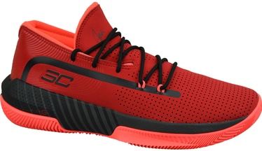 Under Armour Mens SC 3ZER0 III Basketball Shoes 3022048-601 Red 45.5