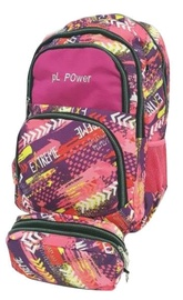Avatar Backpack Extreme With Pencil Case Pink