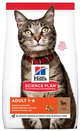 Hill's Science Plan Adult Cat Food w/ Lamb And Rice 10kg