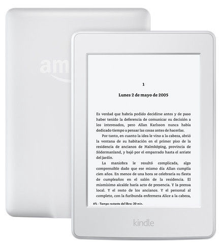 Amazon Kindle Paperwhite 3 WiFi With Advertising White