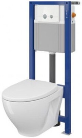 Cersanit Moduo S701293 WC Clean On with Soft Close Lid White