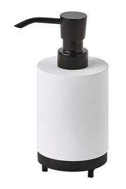 Aquanova Triple Soap Dispenser 140ml White/Black