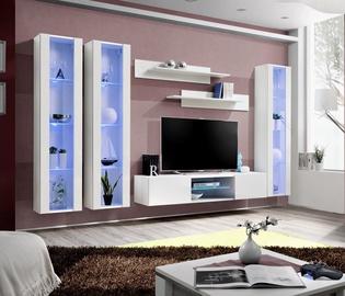 ASM Fly P2 Living Room Wall Unit Set White