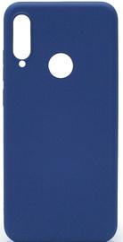 Evelatus Soft Silicone Back Case For Huawei P30 Lite Dark Blue