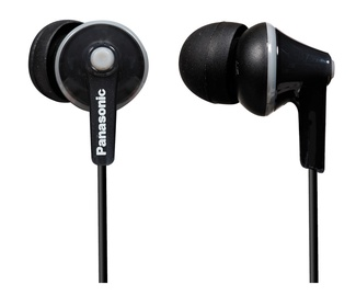 Kõrvaklapid Panasonic RP-HJE125E-K In-Ear Black