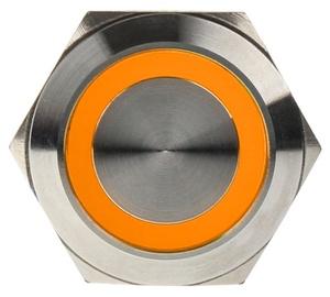 DimasTech Switch Push Button 22mm Silverline Orange