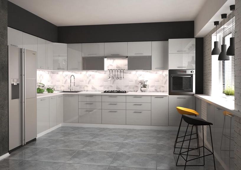 Нижний кухонный шкаф Halmar Vento D-30/82 Light Grey