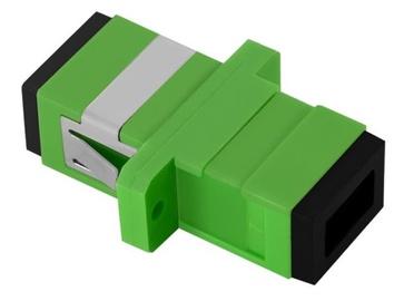 Qoltec Adapter Fiber Optic SC/APC Simplex Singlemode