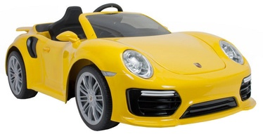 Injusa Porsche 911 Turbo S 6V Radio Control Yellow 7182