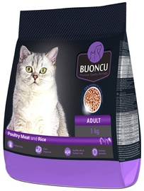 Buoncu Adult Cat Poultry Meat And Rice 1kg
