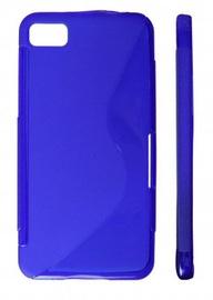 KLT Back Case S-Line HTC 8X C620e Silicone/Plastic Blue