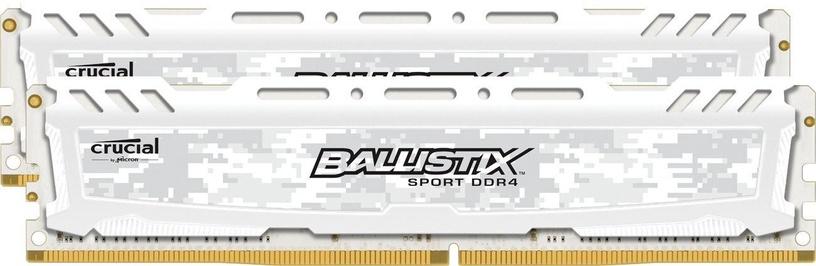 Crucial Ballistix Sport LT 16GB 2400MHz CL16 DDR4 DIMM KIT OF 2 BLS2C8G4D240FSC