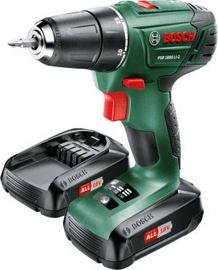 Bosch PSR 1800 LI-2 + 2x1.5Ah Battery