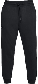 Under Armour Jogger Pants Rival Fleece 1320740-001 Black L