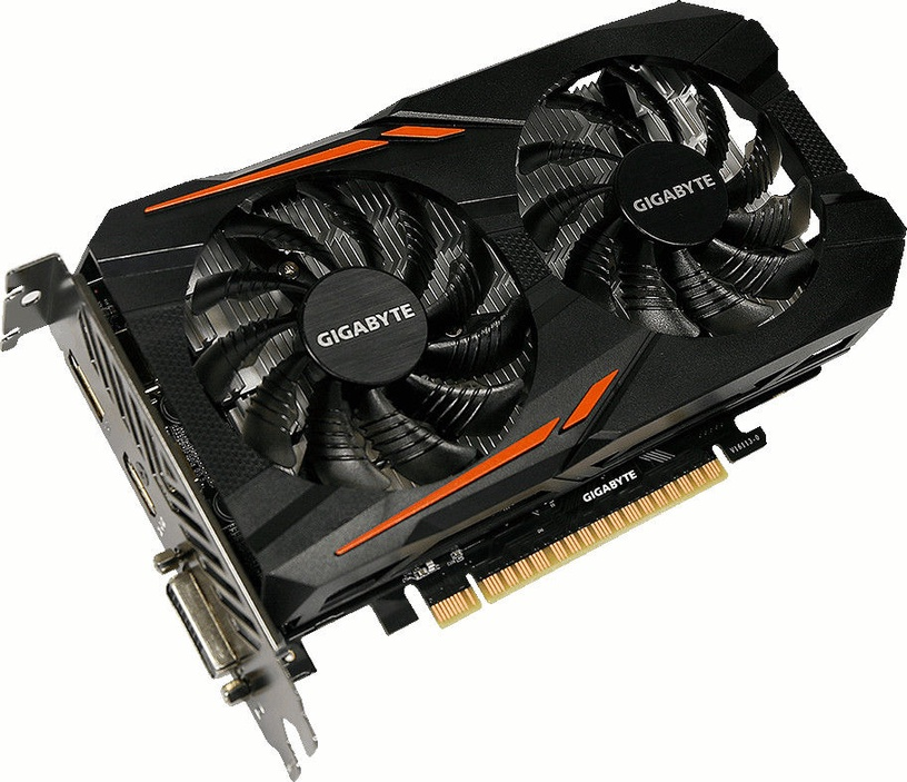 Gigabyte GeForce GTX1050 Ti OC 4GB GDDR5 PCIE GV-N105TOC-4GD