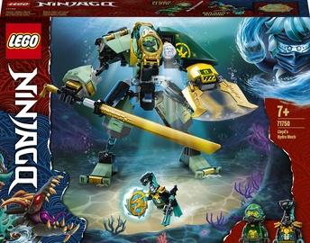 Konstruktor LEGO Ninjago Lloyds Hydro Mech 71750, 228 tk
