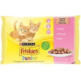 Konservid kassidile liha FRISKIES® Junior, 4x85g
