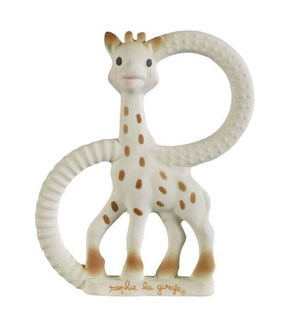 Vulli Sophie La Girafe And Ring Teether Set