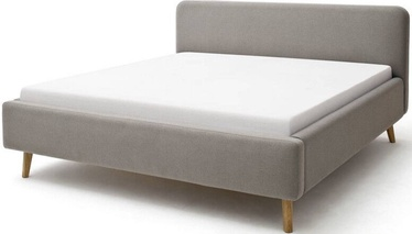 Кровать Meise Möbel Mattis Taupe, 200x160 см