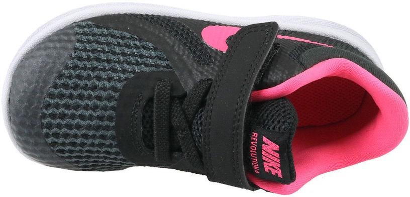 Nike Kids Shoes Revolution 4 TDV 943308-004 Black 22