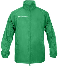 Givova Basico Rain Jacket Green XS