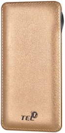 Tel1 B12 Power Bank 12000mAh Gold