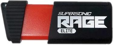 USB mälupulk Patriot Memory Supersonic Rage Elite Black, USB 3.1, 128 GB