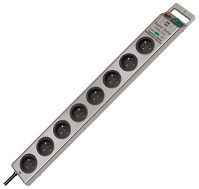Brennenstuhl Power Strip 8-Outlet 230V 16A 2.5m Grey