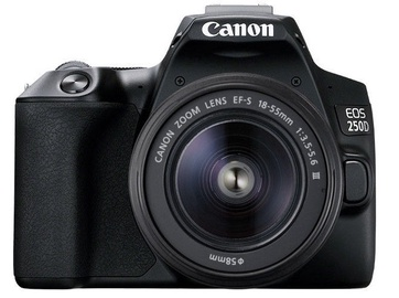 Canon EOS 250D + 18-55mm Kit Black