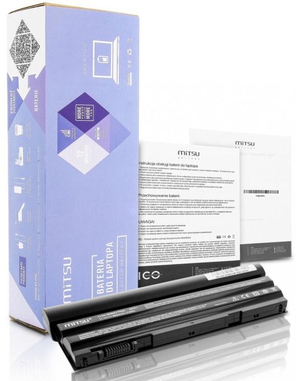 Mitsu Battery For Dell Latitude E5420/E6420 6600mAh