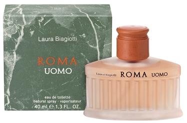 Tualettvesi Laura Biagiotti Roma Uomo 40ml EDT