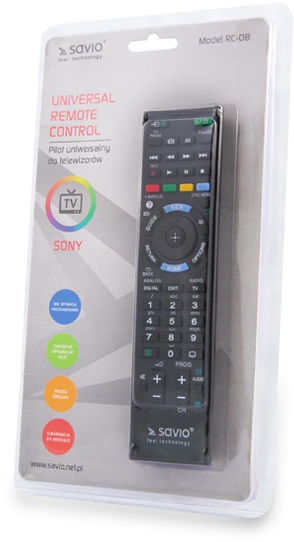 Savio RC-08 Sony Remote