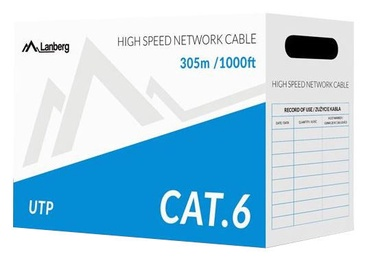 Lanberg Patch Cable UTP CAT6 305m CCA Grey