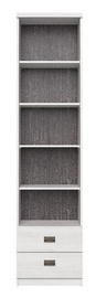 Black Red White Namur REG2S Shelf Siberian Larch/Grey Print