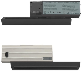 Qoltec Long Life Notebook Battery For Dell Latitude D630 6600mAh