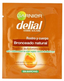 Garnier Delial Natural Self-Tanning Wipes For Face And Body 1pcs