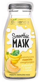 Bielenda Smoothie Face Mask With Prebiotic 10g Banana & Melon