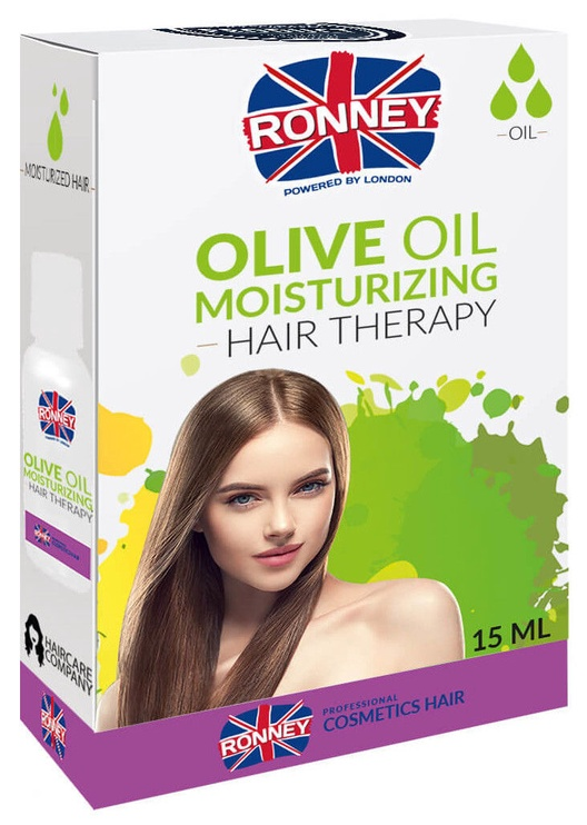 Ronney Olive Oil Moisturizing Effect Hair Therapy 15ml