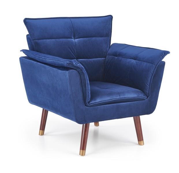 Tugitool Halmar Rezzo Blue, 73x80x84 cm
