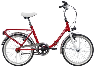 "Jalgratas Bottari Dolcevita Red, 20"""