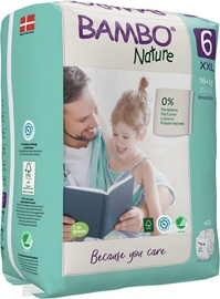 Bambo Nature Classic Diapers S6 20
