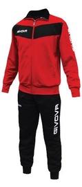 Givova Visa Tracksuit Red Black 3XS